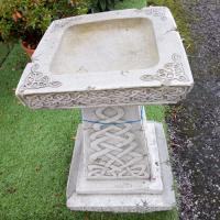 Celtic Bird Bath oakley