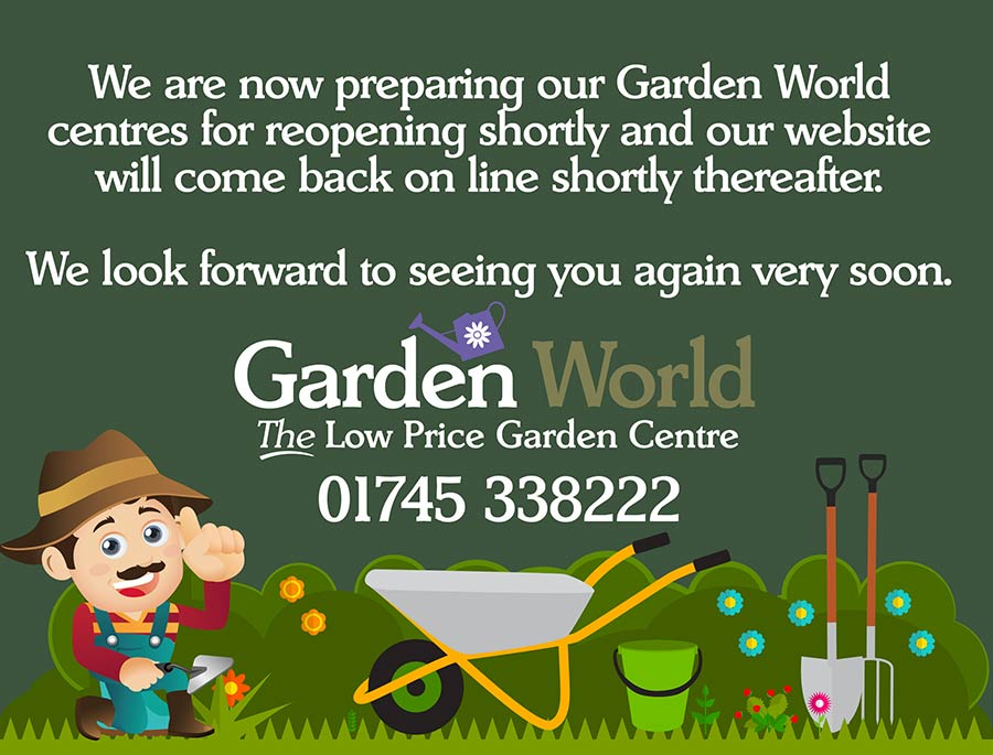 Gardenworld website is coming soon